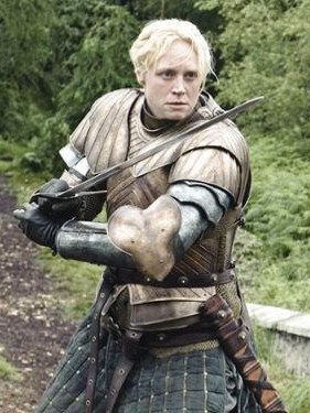 Gwendoline Christie as Brienne Tarth