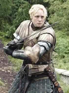 Gwendoline Christie as Brienne Tarth