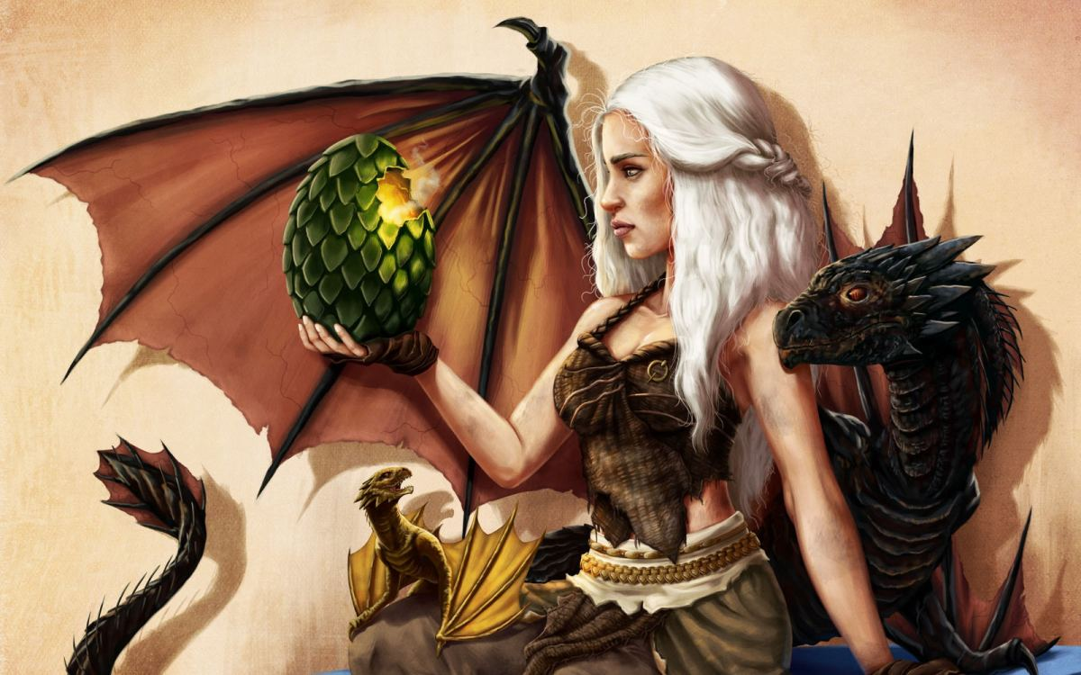 "Daenerys Targaryen is one of the characters from ""A Song of Ice and Fire"""
